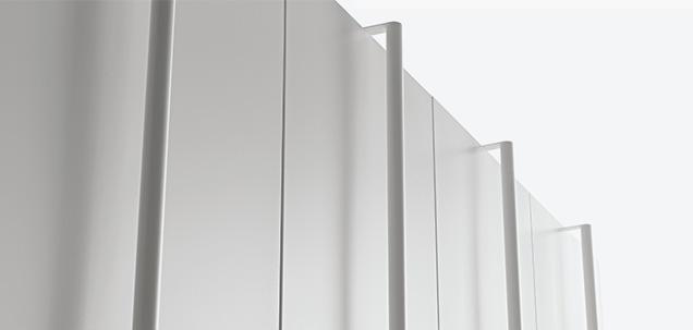 Vela, manuell verschiebbarer mobiler Schrank | Fantin Srl