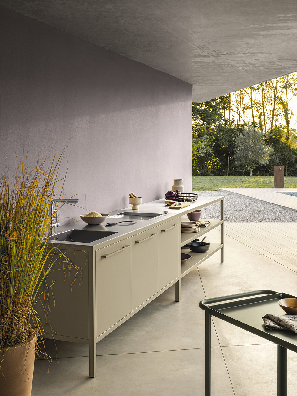 Frame Kitchen Outdoor